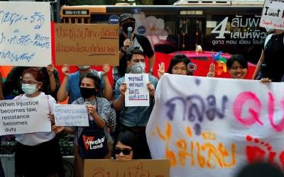 تايلاند تفرض حالة الطوارئ لمواجهة الاحتجاجات