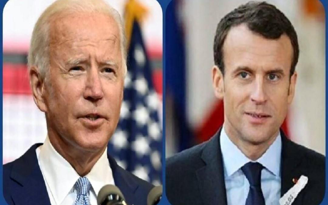 """أوساط دبلوماسية لـ """"الجمهورية"""": ماكرون هو من بادر وطرح الموضوع اللبناني على بايدن"""