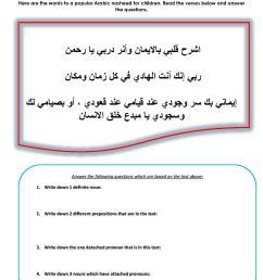detached pronouns arabic   Arabic Adventures [ 1754 x 1240 Pixel ]