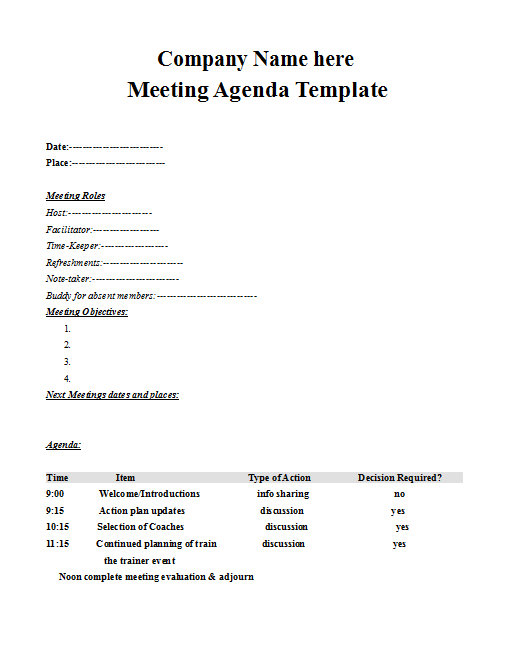 Remember, meeting minutes should not be a verbatim accounting of everything that happened. Business Meeting Agenda Arabic Guy