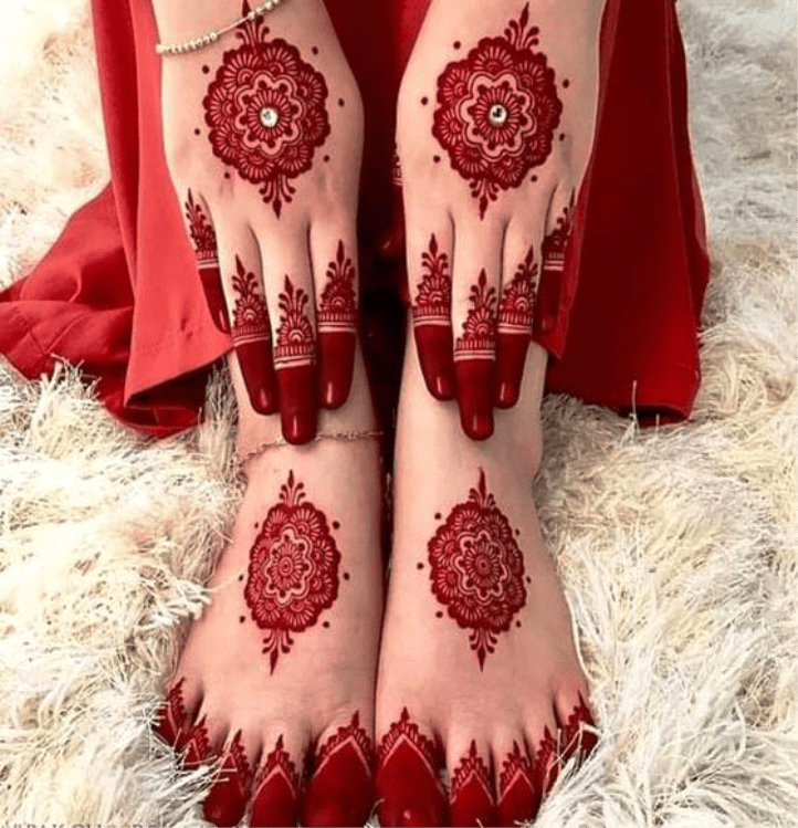 Latest Chand Raat Mehndi Designs 2019