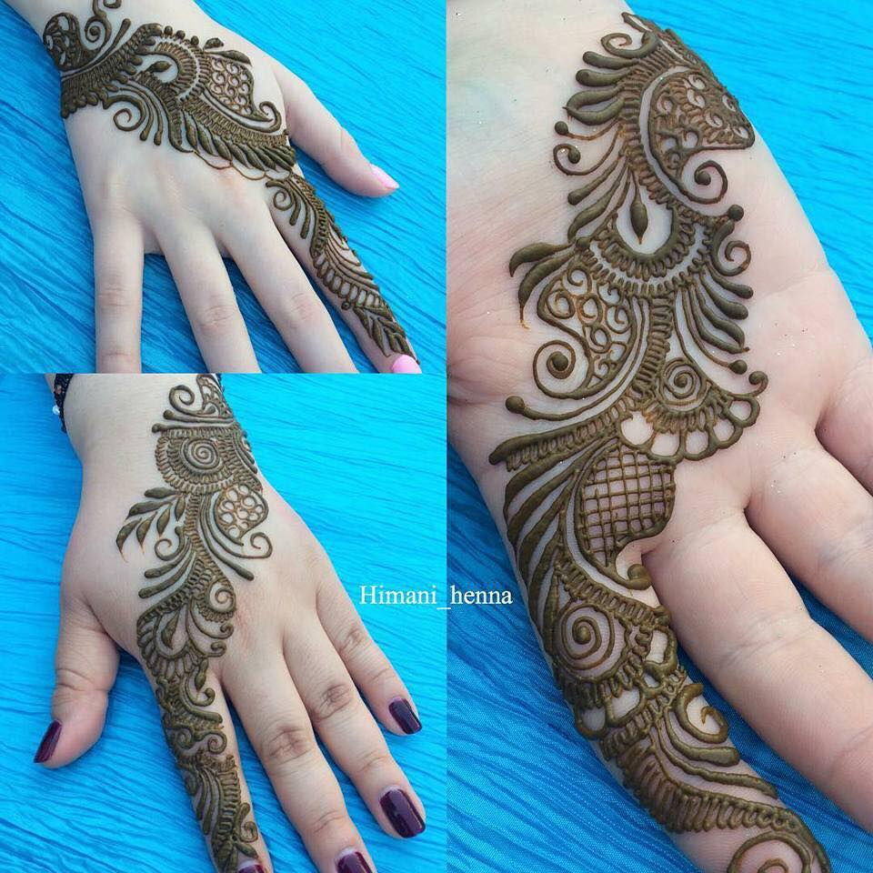 Designer Wedding Collection New Mehndi Designs 2019 For Teenagers