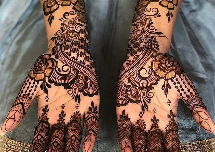 Beautiful Collection Of Latest Mehndi Designs 2019 For Navratri