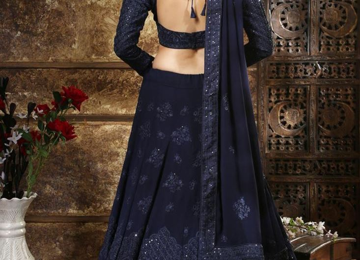 Dori Style Back Neck Designer New Blouse Designs 2019 For Lehenga Choli