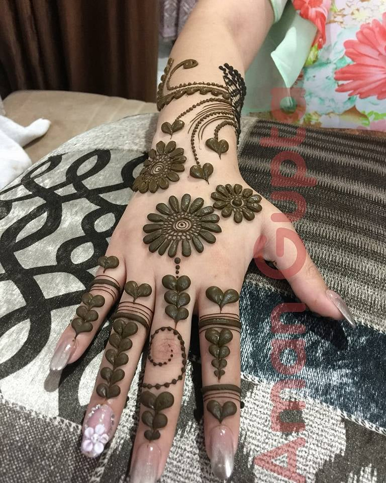 Have A Look On Designer New Bridal Mehndi Designs 2019 Full Hand