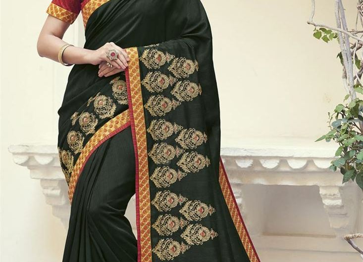 Indian Latest Saree Designs 2019 Images For Engagement