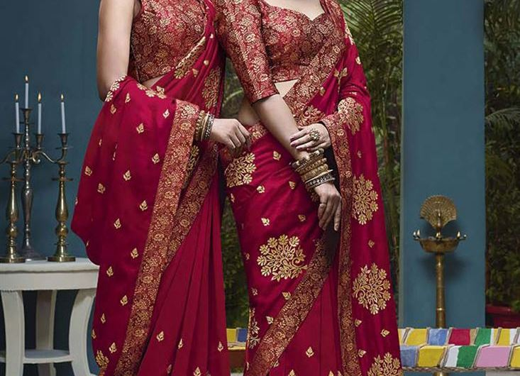 Designer Festive Style Latest Saree Designs 2019 New Trending Collection