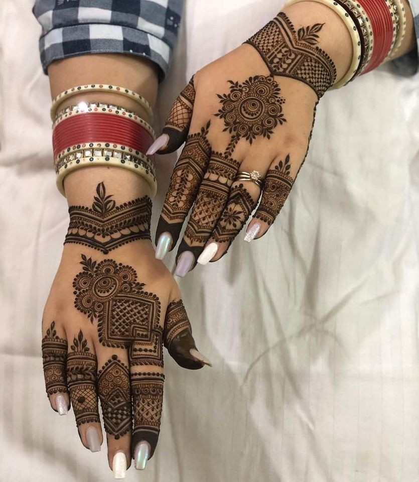 Bridal Mehndi Designs 2019 New Styles For Front And Back