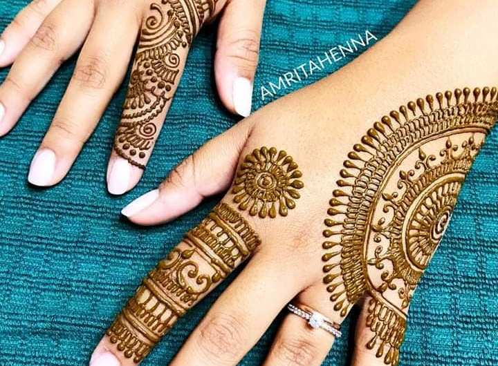 Latest Mehndi Designs 2020 For Front And Back Hand