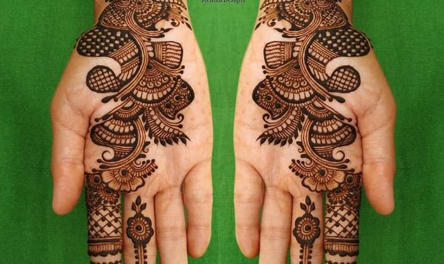 Popular Mehndi Design In Bridals Latest Arabic, Floral, Simple, Full Hand Mehndi Designs 2020 For Girls