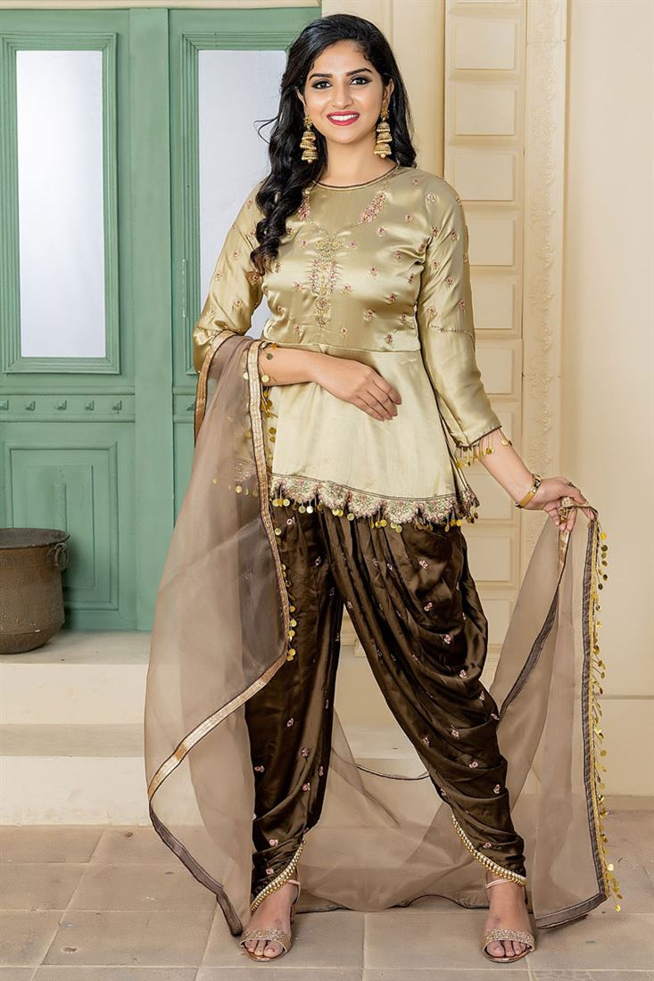 Latest Punjabi Suit Design 2020 Photos New Patiala Salwar Kameez Designs