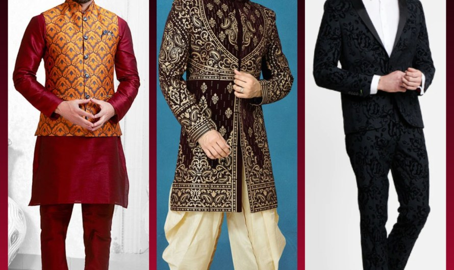Popular Dressing Ideas 2020 For Grooms Latest Sherwani Designs, Kurta Designs, Suit Designs For Wedding