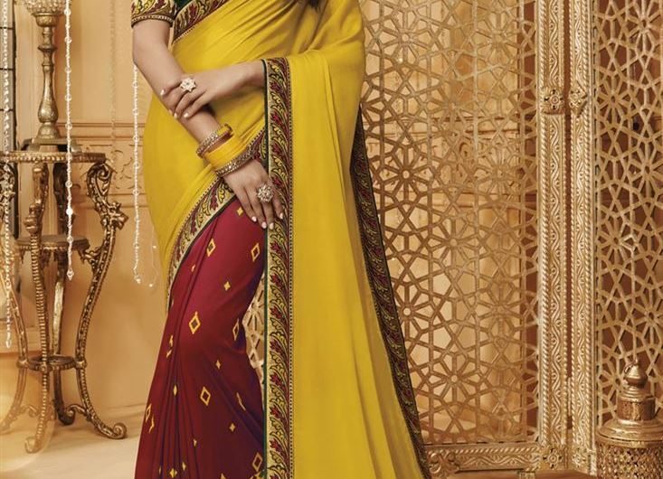 Border Work New Silk Saree Designs 2020 In India