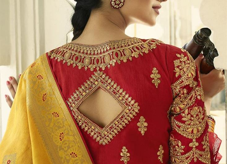 Trending Indian Bridal Red Blouse Designs 2020 New Red Silk Saree Blouse Designs Images