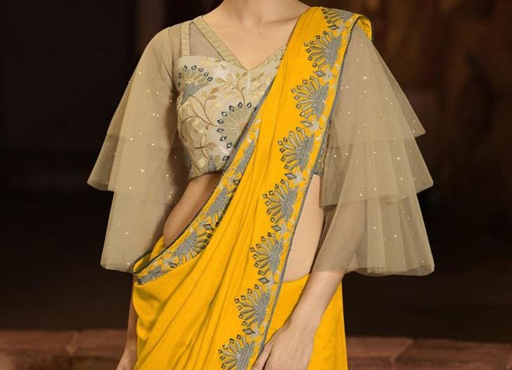 Bollywood Style Celebrity Wear Indian Latest Blouse Designs 2020 For Saree