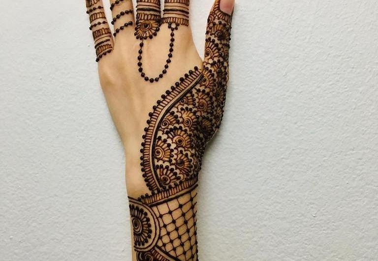 Bridal Simple Arabic Mehndi Designs 2020 For Wedding Easy Styles For Hands