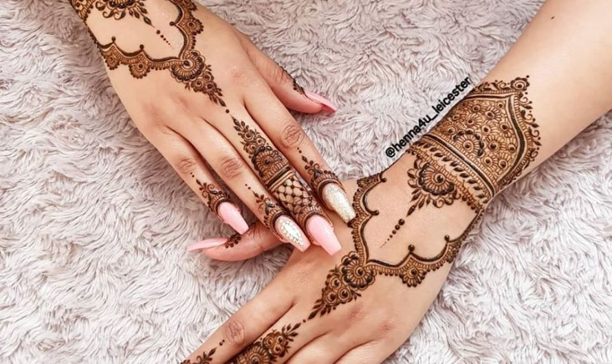 Full Hands Stylish Latest Bridal Mehndi Designs 2020 Beautiful Collection