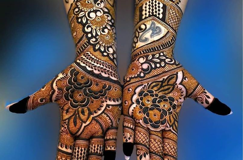 Traditional Style Latest Bridal Mehndi Designs 2020 New Wedding Collection