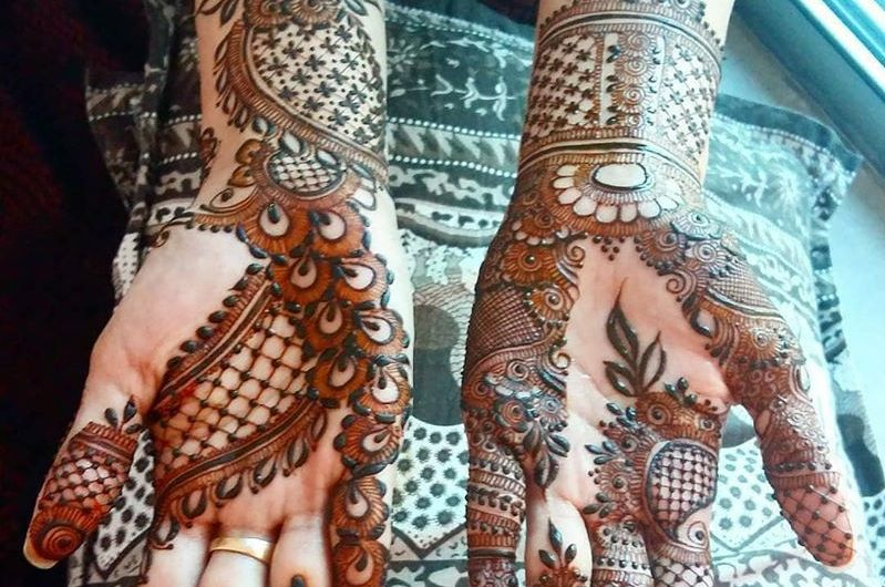 Popular Pakistani Bridal Mehndi Designs 2020 For Barat