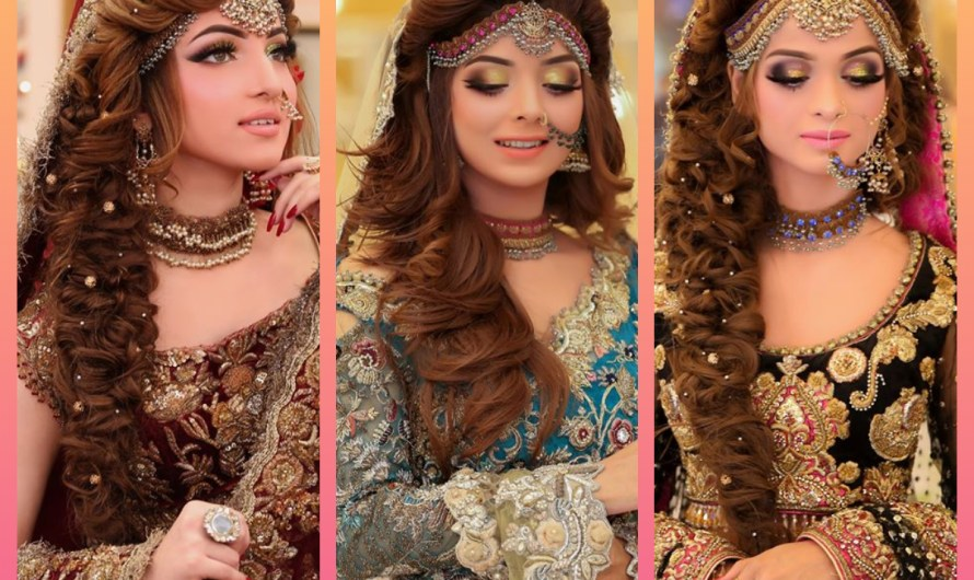 Quick Hairstyles For Barat Latest Pakistani Wedding Hairstyles 2020