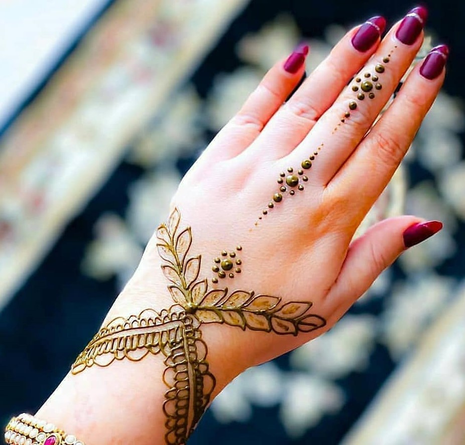 Latest New Mehndi Designs Images For Eid 2020