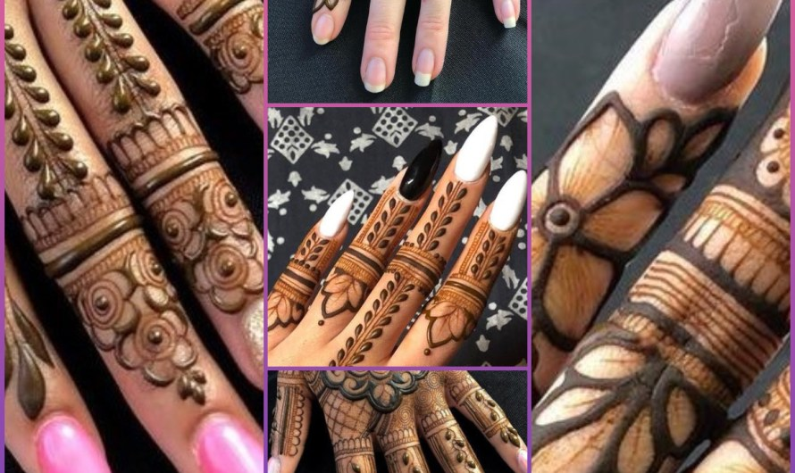 New Eid Finger Mehndi Designs 2020 Beautiful Easy Styles For Girls