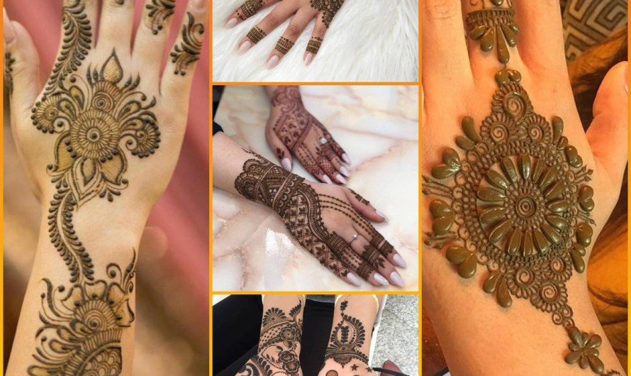 New Henna Style Collection Latest Bridal Full Hand Mehndi Designs 2020
