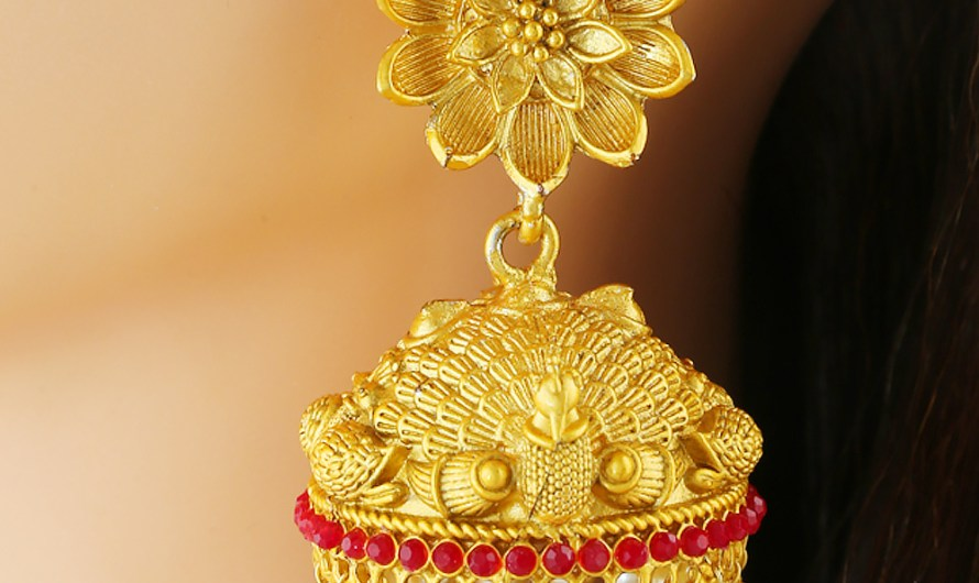 Traditional Latest Indian Bridal Jhumka Designs 2020 Trends