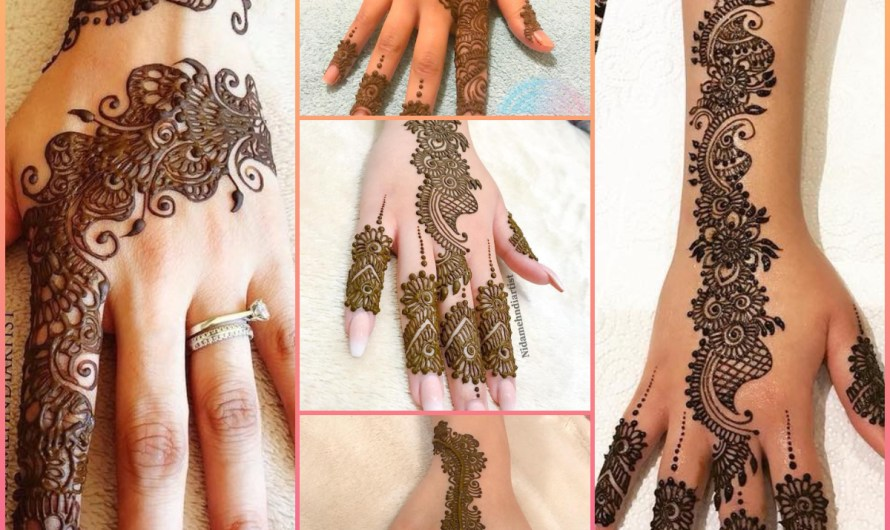 Designer Easy Front Hand Arabic Mehndi Designs 2020 For Bridals