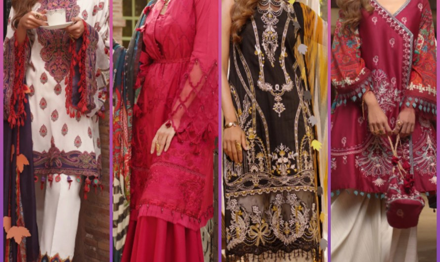 Ittehad Eid Collection Latest Luxury Lawn Saira Rizwan Dresses 2020