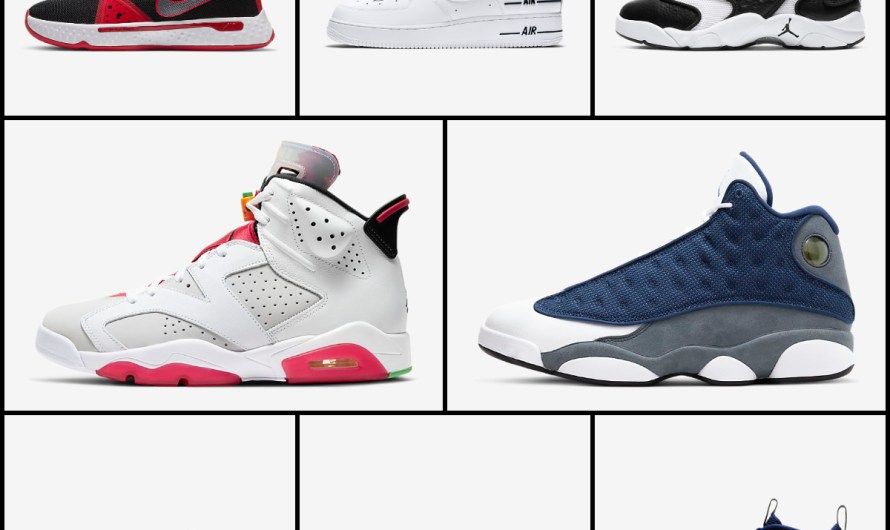 New Releases Nike Shoes 2020 Air Jordan 6 Retro & Air Jordan 13 Retro