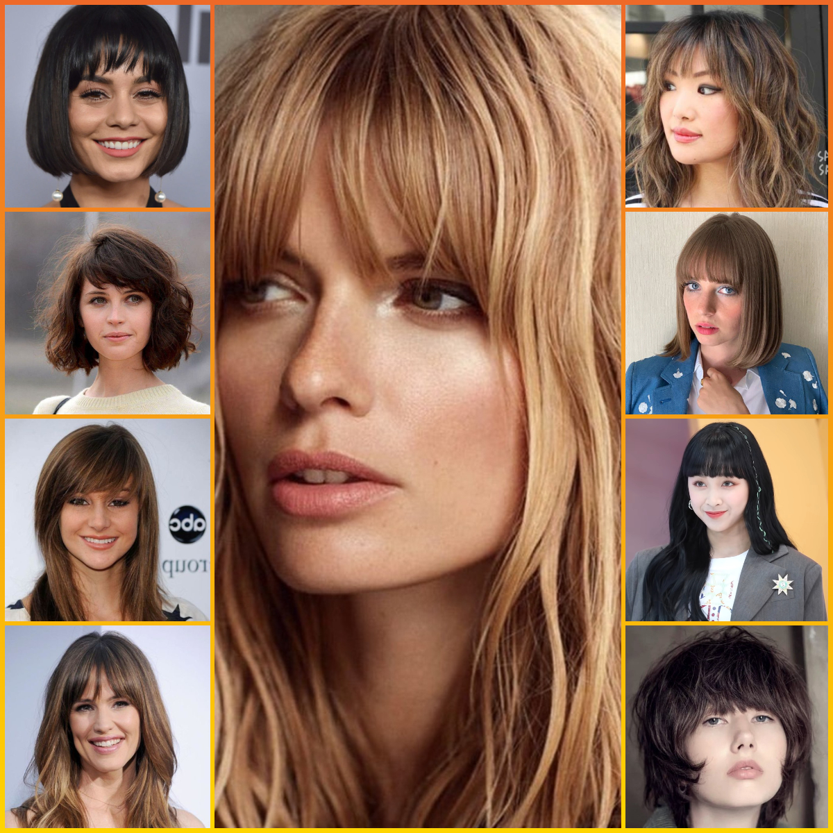35 Attractive Summer Haircuts With Bangs 2020 New Fringe Hairstyles Ideas For Ladies