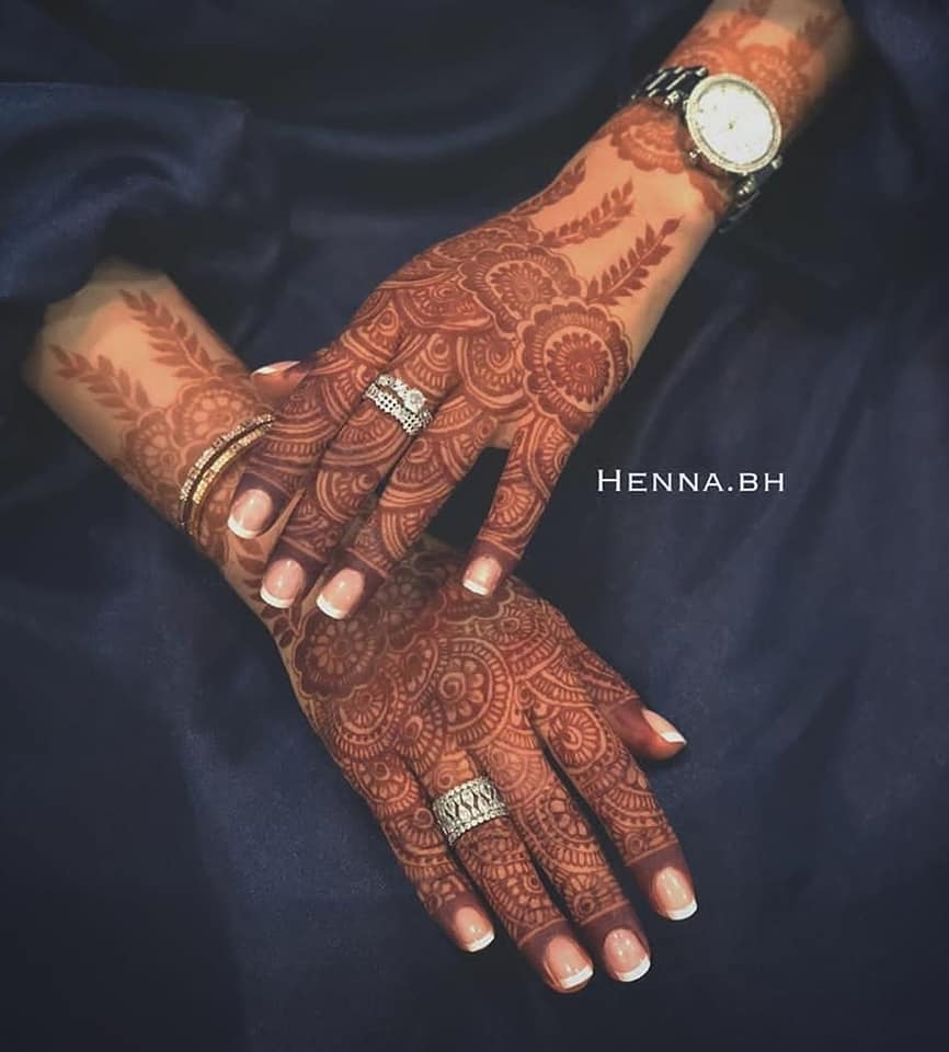 new and stylish mehndi design