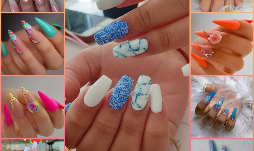 70 Popular Nail Designs New Nail Art Trends For Girls