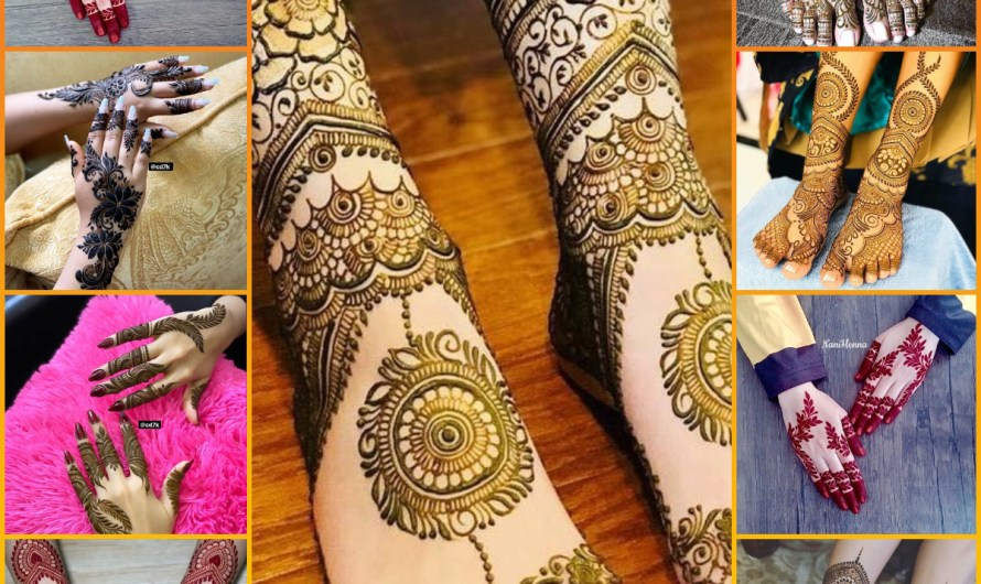 Best Top 50 Hands & Feet Simple Bridal Mehndi Designs 2020 Download New Images