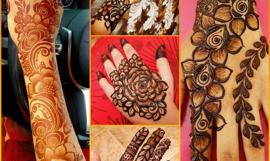 Download 25+ New Mehndi Style Images 2020 Bridal Finger Henna Collection