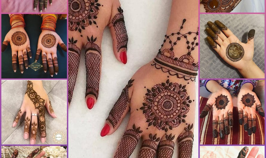 Simple & Stylish 50 New Bridal Mehndi Designs 2020 Trends Images