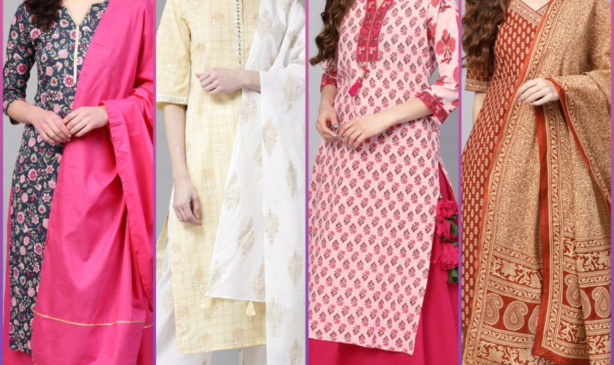 Straight Printed Women Kurti Designs Collection 2020 Designer Styles For Wedding