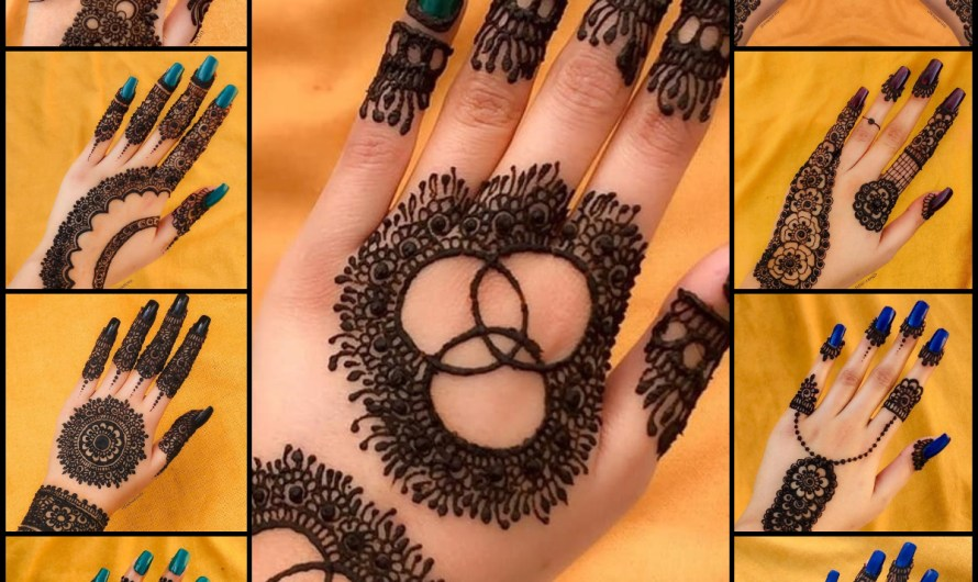 Top 15 Elegant Mehndi Designs For Bridals Latest Henna Collection 2020 Images