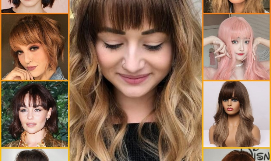 Women 60+ Elegant Summer Bangs 2020 Latest Fringe Hairstyles Ideas For Short & Long Hairs