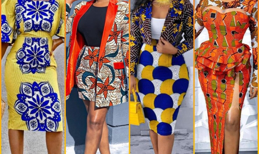 African Party & Wedding Style Designer New Ankara Dresses 2020 Images