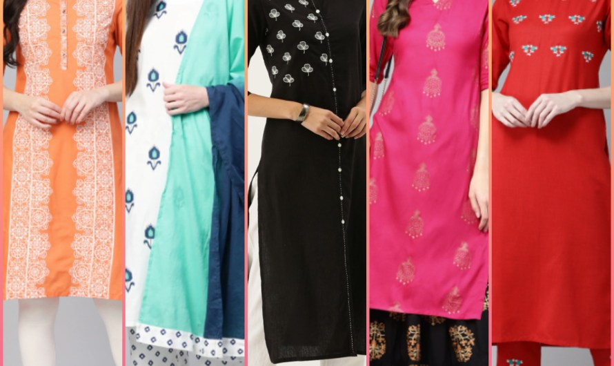 Glorious Kurti Collection For Smart Girls Latest Indian Kurti Images 2020 For Weddings & Parties