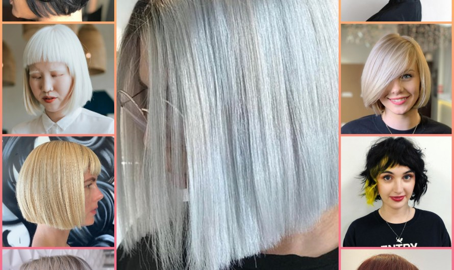 Latest Bob Haircut With Bangs 2020 Women Simple Summer Hairstyles Images