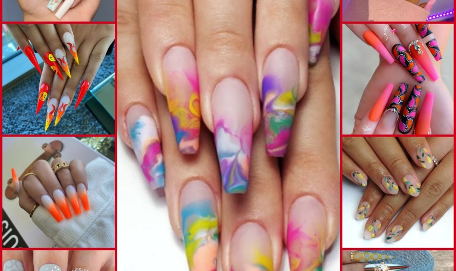 20+ New Easy Nail Art Designs 2020 Colorful Ideas Gallery