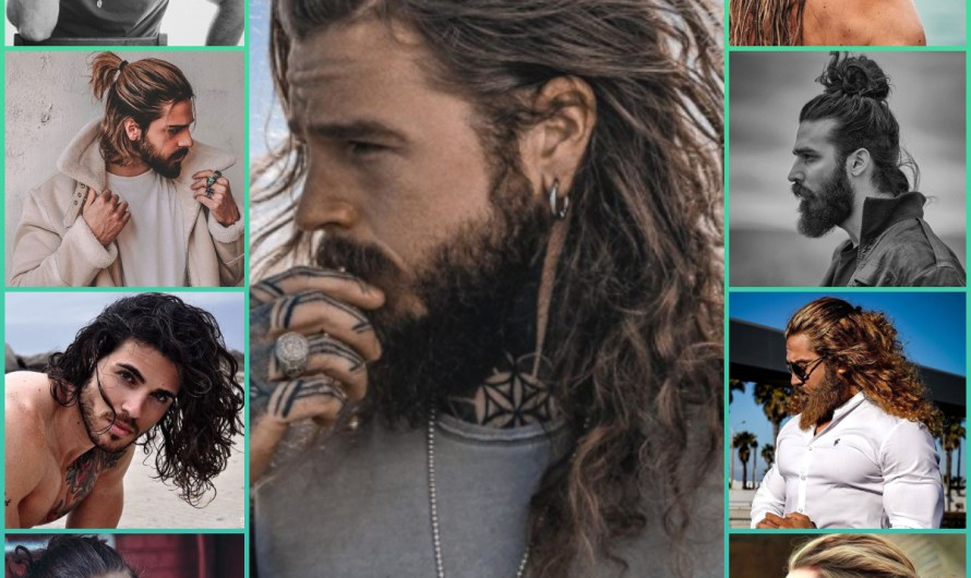 30 New Stylish Men Hairstyle Long Hair For 2020-2021