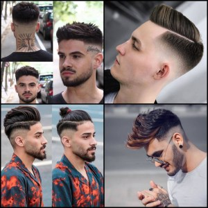hairstyle for men 2020