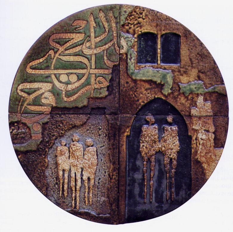 الحروفية في الفن العربي المعاصر - قاعة نبض في عمّان (2/6)