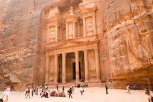 Petra - Felsenstadt in Jordanien