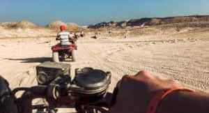 Katar: Quad in der Wüste