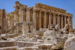 Ruinen im Libanon